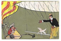Les Sports XXI - L'Aérostation - Illustrateur CH. BEAUVAIS - Beauvais