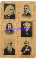 133066 ARTIST PIANIST FLEBRES & PUBLICITY MEDICAMENTOS NOTABLES MENTHOLINA SPOTTED NO POSTAL POSTCARD - Artisti