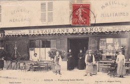 Senlis, Restaurant Piarrot Faubourg Saint Martin - Senlis