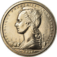 Monnaie, Madagascar, Franc, 1948, Paris, ESSAI, SUP, Copper-nickel, KM:E1 - Madagascar