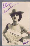 Artiste 1900 - Otero -  Cliché Reutlinger Sip Serie 35 - Dance