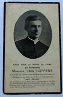Bidprent Priester Leon Coppens Gavere (1874) - Ukkel (1911) - Religion & Esotericism