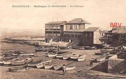 PHOTO: Marseille: Madrague De Montredon, La Calanque, Photo D'une Ancienne Carte Postale, 2 Scans - Lieux