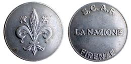 04930 GETTONE TOKEN JETON FICHA PARCHEGGIO PARKING PARKMUNZE S.C.A.F. FIRENZE LA NAZIONE - Italy