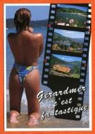 88 GERARDMER C'est Fanstastique Pellicule Fille Carte Vierge TBE - Pin-Ups