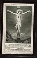 Souvenir Pieux - Edmond ETIENNE - Littérateur - Jodoigne 1862 / 1895 - 2 Scans - Images Religieuses