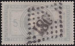 France .    Yvert       .   33  (2 Scans)  Condition Parfaite    .         O     .       Oblitéré  .   /   .   Cancelled - 1863-1870 Napoleon III With Laurels