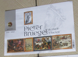1 Blok Pieter Bruegel** - Blocks & Kleinbögen 1962-....