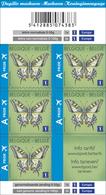 1 Boekje/carnet Vlinder 5 X N°1 Europe** - Markenheftchen 1953-....