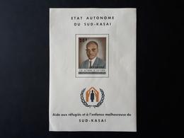 Etat Autonome Du Sud-Kasai 1961 : Aide Aux Réfugiers Et à L'enfance Malheureuse  & - South-Kasaï