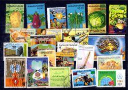 Kleiner Posten Gestempelter Libyscher Briefmarken, Gemäss Scan, Los 52416 - Libia