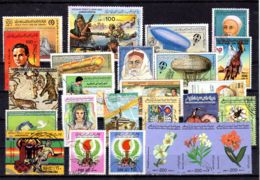 Petite Collection De Timbres Libyens, Estampillés Selon Scan, Lot 52414 - Libyen