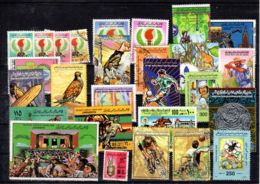 Small Collection Of Libyan Stamps, See Scan - Stamped; Lot 52413 - Libia