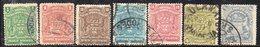 T1672 - AFRICA DEL SUD COMPAGNIA BRITANNICA 1898,  Sette Valori Usati.  (2380A) - Unclassified