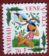1970 VENEZUELA Navidad  Campagna Tubercolosi TBC Cindarella Vignetta Erinnofilo - Nuovo - Vignetten (Erinnophilie)