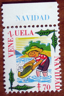 1970 VENEZUELA Navidad Tubercolosi TBC Cindarella Vignetta Erinnofilo - Nuovo - Cinderellas