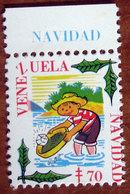 1970 VENEZUELA Navidad Tubercolosi TBC Cindarella Vignetta Erinnofilo - Nuovo - Vignetten (Erinnophilie)
