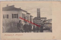 ** PAESAGGIO DI ALTOPASCIO.-** - Lucca