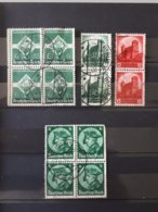 Timbres Allemagne 1934 Yt N° 530, 546, 547  & - Used Stamps