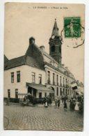 59 LA BASSEE Marchand De Glaces Ambulant Commerce à L'Octroi Hotel De Ville Anim 1912 Timbrée   D09 2020 - France