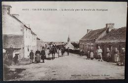 Saint Sauveur Route De Huelgoat - France