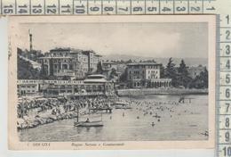 CROAZIA CROATIA  ABBAZIA BAGNO SAVOIA E CONTINENTALE  1932 - Kroatien
