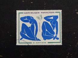 FRANCE YT 1320 OBLITERE - LES NUS BLEUS HENRI MATISSE - PEINTRE PEINTURE TABLEAU - Oblitérés