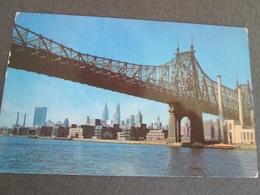 USA,  QUEENSBORO BRIDGE,  NEW YORK CITI 1960 - Ponts & Tunnels