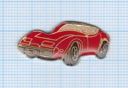 Pin's Voiture De SportCorvette - Corvette