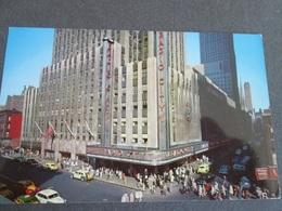 USA, RADIO CITY MUSIC HALL,  NEW YORK CITI 1960 - Autres Monuments, édifices