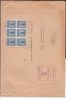 Dienstbrief Deutsches Reich MEF Stempel Mayen 1939 , Mit Stempel SA Der NSDAP - Deutschland