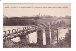 6966 - Le Viaduc Du Chemin De Fer Qui Enjambe Le Jaudy Sous LA ROCHE-DERRIEN - Autres Communes
