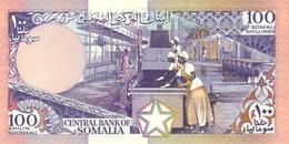 SOMALIA P. 35b 100 S 1987 UNC - Somalia