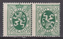 KP6* Heraldieke Leeuw / Lion - Décalage / Verschoven Druk - Errors And Oddities