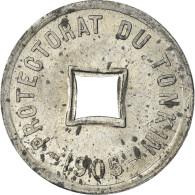 Monnaie, Tonkin, 1/600 Piastre, 1905, SUP, Zinc, KM:1 - Vietnam