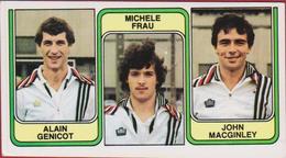 Panini Football 83 Voetbal Belgie 1983 Sticker Autocollant Nr 376 SC Charleroi Alain Genicot Michele Frau John MacGinley - Sport