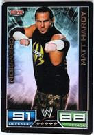 TCG CATCH SLAM ATTAX - Matt Hardy Champion - 004/172 - Trading Cards