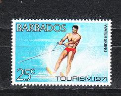 Barbados - 1971. Sci Nautico. Water Ski. MNH - Sci Nautico