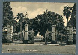 °°° Cartolina - Acireale Entrata Alla Villa Belvedere Nuova °°° - Acireale