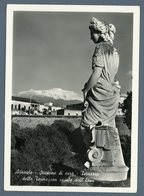 °°° Cartolina - Acireale Stazione Di Cura Terrazza Delle Terme Con Veduta Dell'etna Nuova °°° - Acireale