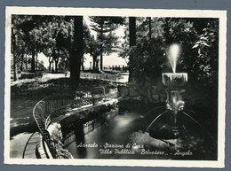 °°° Cartolina - Acireale Stazione Di Cura Villa Publica Belvedere Angolo Nuova °°° - Acireale