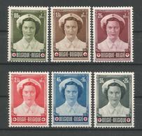 Belgium 1953 Red Cross OCB 912/917 ** - Ongebruikt