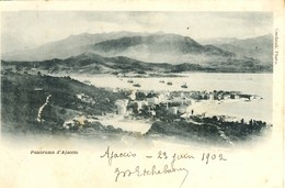 CORSE - AJACCIO - - Cliché De L. Cardinali Du Passage De La Flotte Russe En Novembre 1893 - Ajaccio