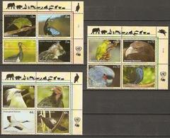 United Nations 2011 Fauna BIRDS - Endangered Species - XIX  12v  MNH** 16,00 € - Gezamelijke Uitgaven New York/Genève/Wenen