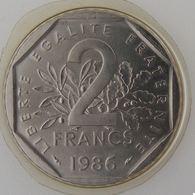 France, 2 Francs 1986, Semeuse, FDC, KM#542.1 - I. 2 Francos