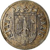 Monnaie, Allemagne, Notstandsgeld, Sinzig, 10 Pfennig, 1919, TTB+, Iron - Monetary/Of Necessity