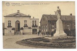 Calmpthout, Jongenschool, Gemeentehuis En H Hartbeeld, 1931 - Kalmthout