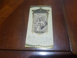 Image Pieuse Chromo  Souvenir De La Première Communion Marguerite Et Berengere Jourdan Paroisse De Grasse 27/5/1920 - Communion