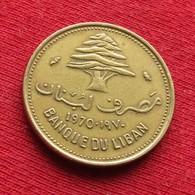 Lebanon 10 Piastres 1970 KM# 26  Liban Libano Libanon - Lebanon