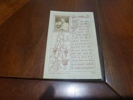 IMAGE PIEUSE  SOUVENIR PREMIÈRE COMMUNION DE HENRI MASSON-Damedieu La Chapelle  De L' Institut  Stanislas Cannes 1901 - Communion